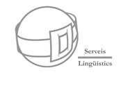 Serveis Linguistics Pened�s